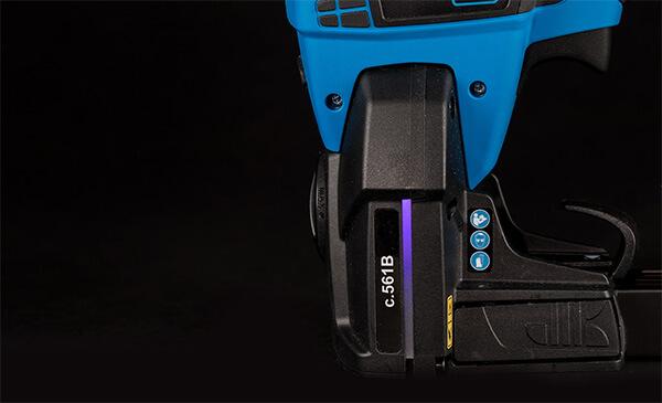 LED indication box stapling