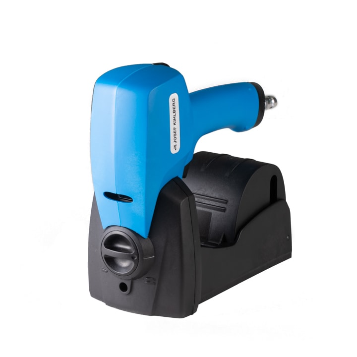 pneumatic roll stapler for carton closing